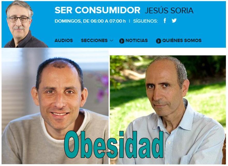 Entrevista en Ser Consumidor junto a Carlos Casabona: obesidad