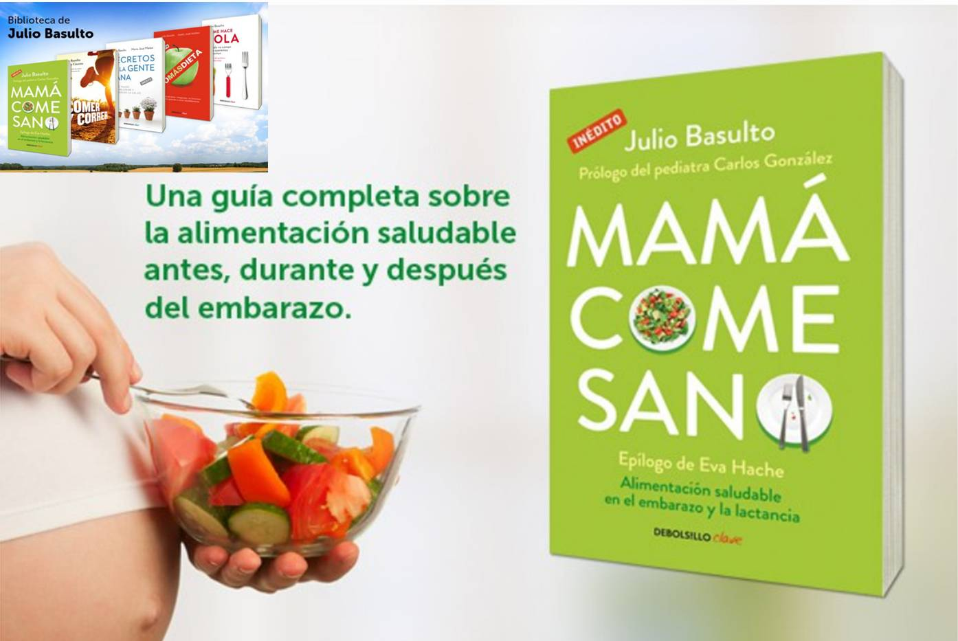 """Mamá come sano"" a 1,89 euros (libro digital en Amazon)"
