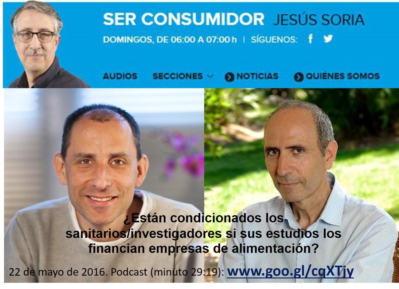 Entrevista en Ser Consumidor junto a Carlos Casabona: la financiación de empresas condiciona a muchos sanitarios