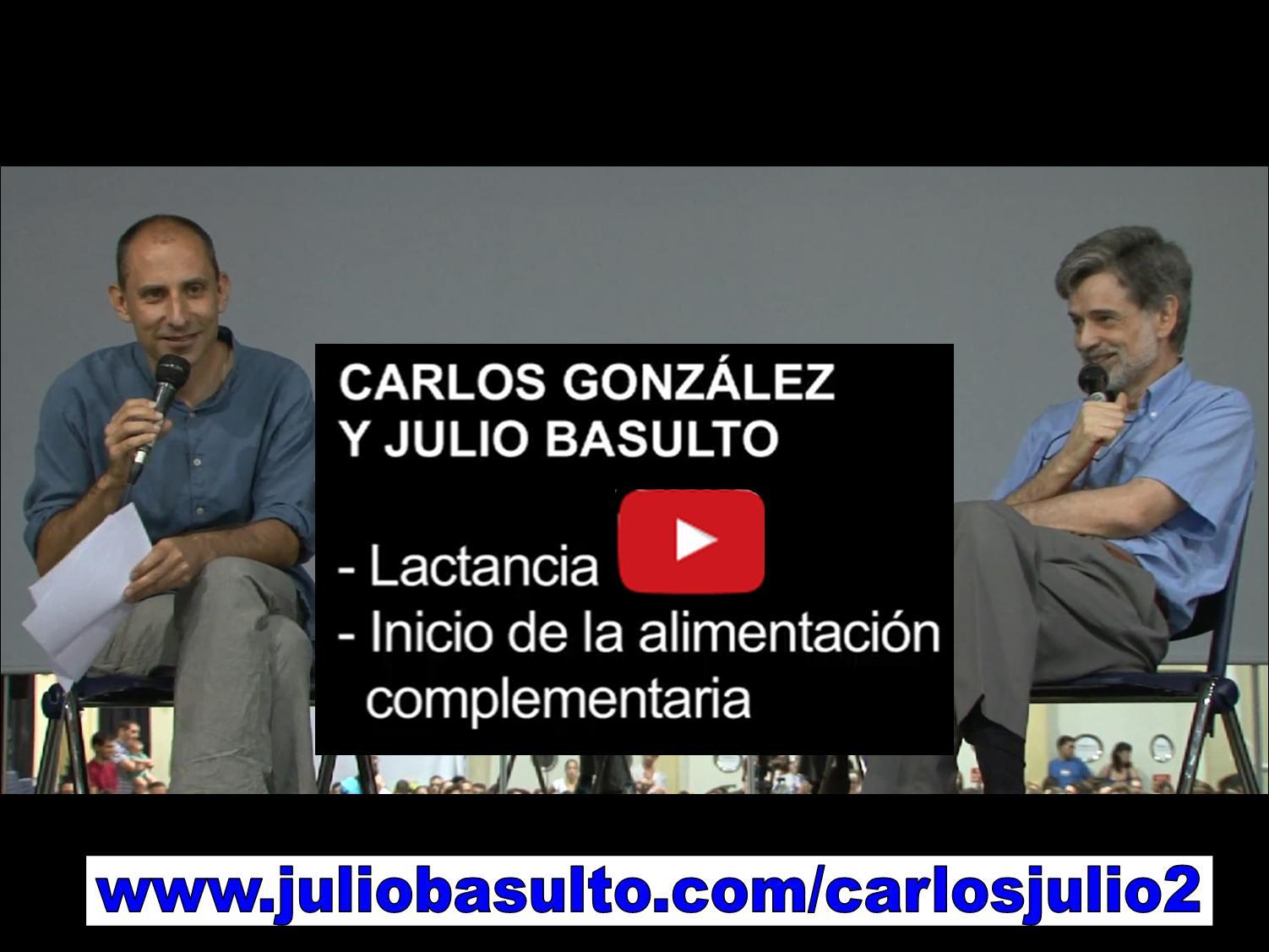 Vídeo de Carlos González y Julio Basulto en Barcelona (segundo fragmento)