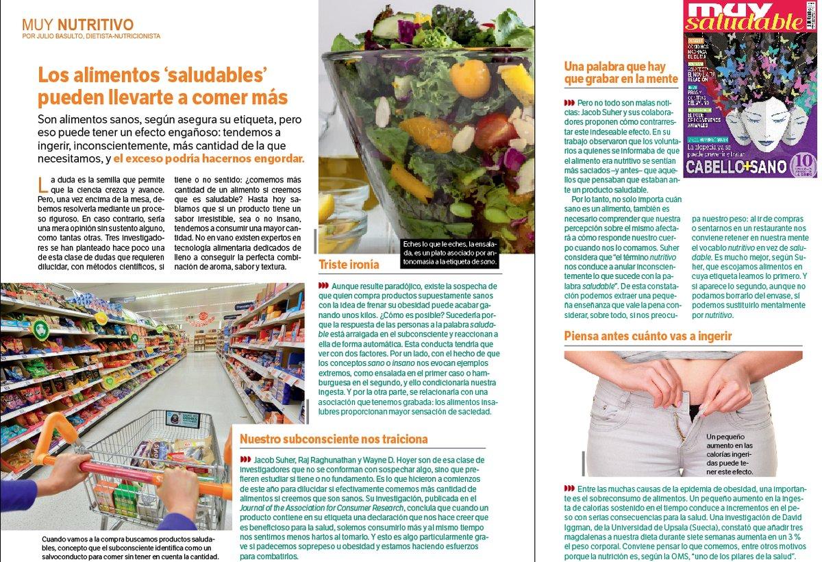 """Los alimentos """"saludables"""" pueden llevarte a comer más"""