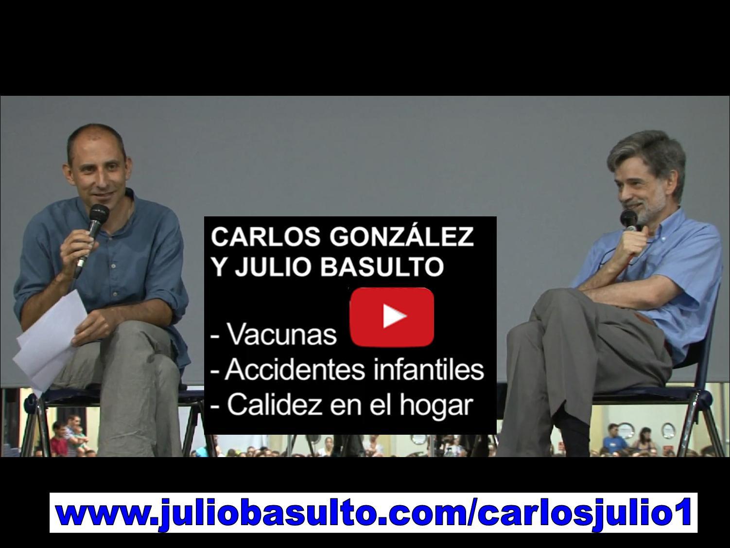 Vídeo de Carlos González y Julio Basulto en Barcelona (primer fragmento)