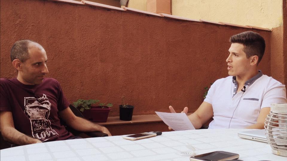 """Entrevista de Nico Haros sobre """"Más vegetales, menos animales"""" 11/10/2016"""