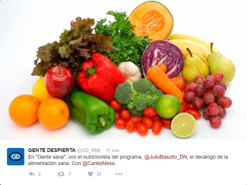 Programa Gente Sana del 11/11/16: Decálogo sano