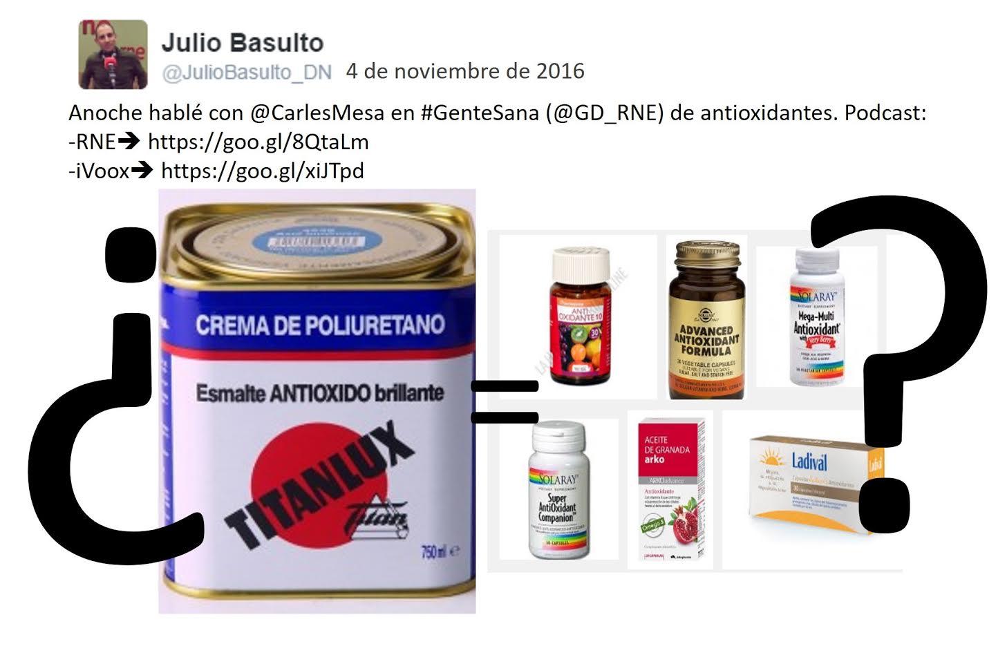 Programa Gente Sana del 4/11/16: Antioxidantes