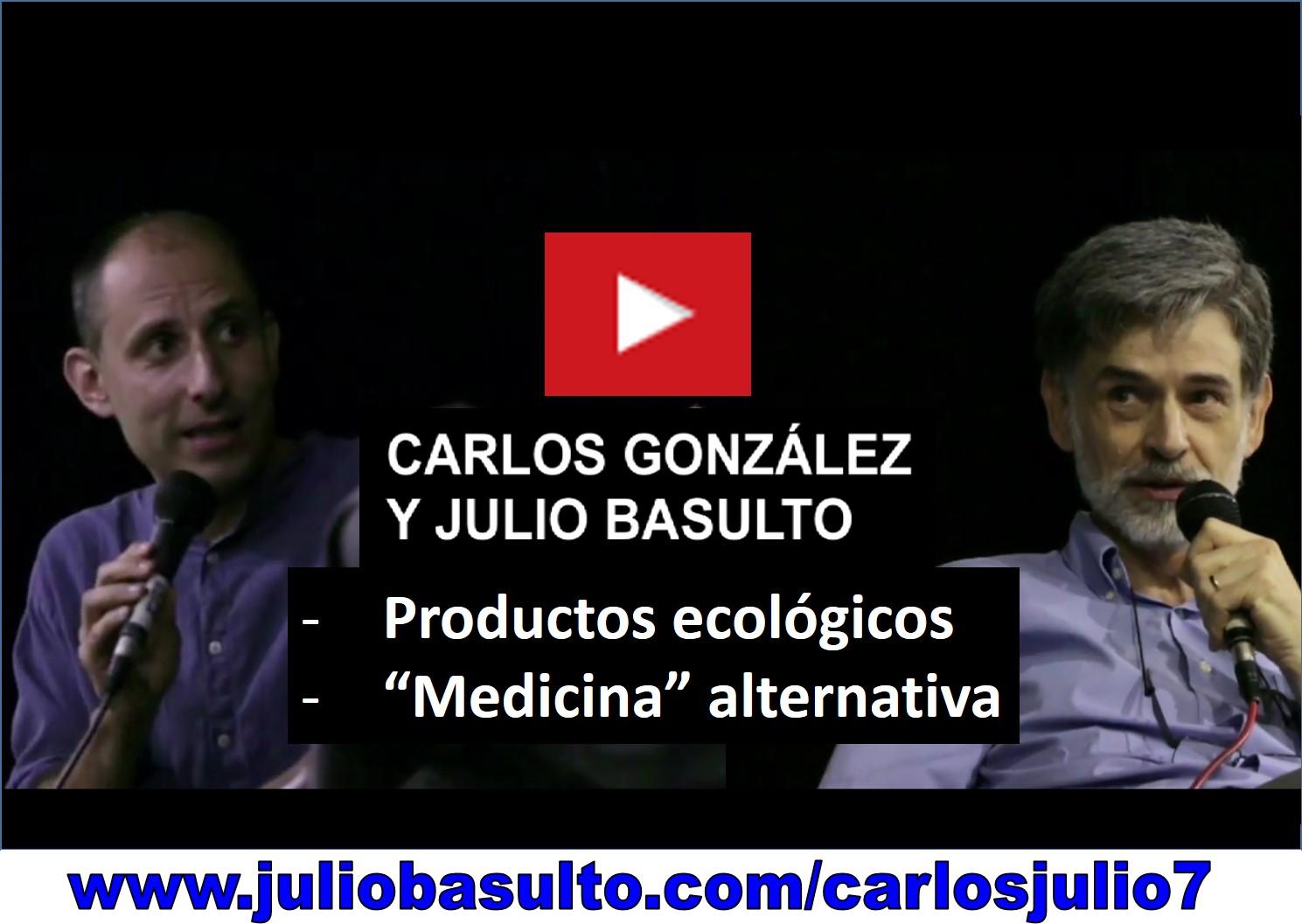 Vídeo de Carlos González y Julio Basulto en Barcelona (7º fragmento)