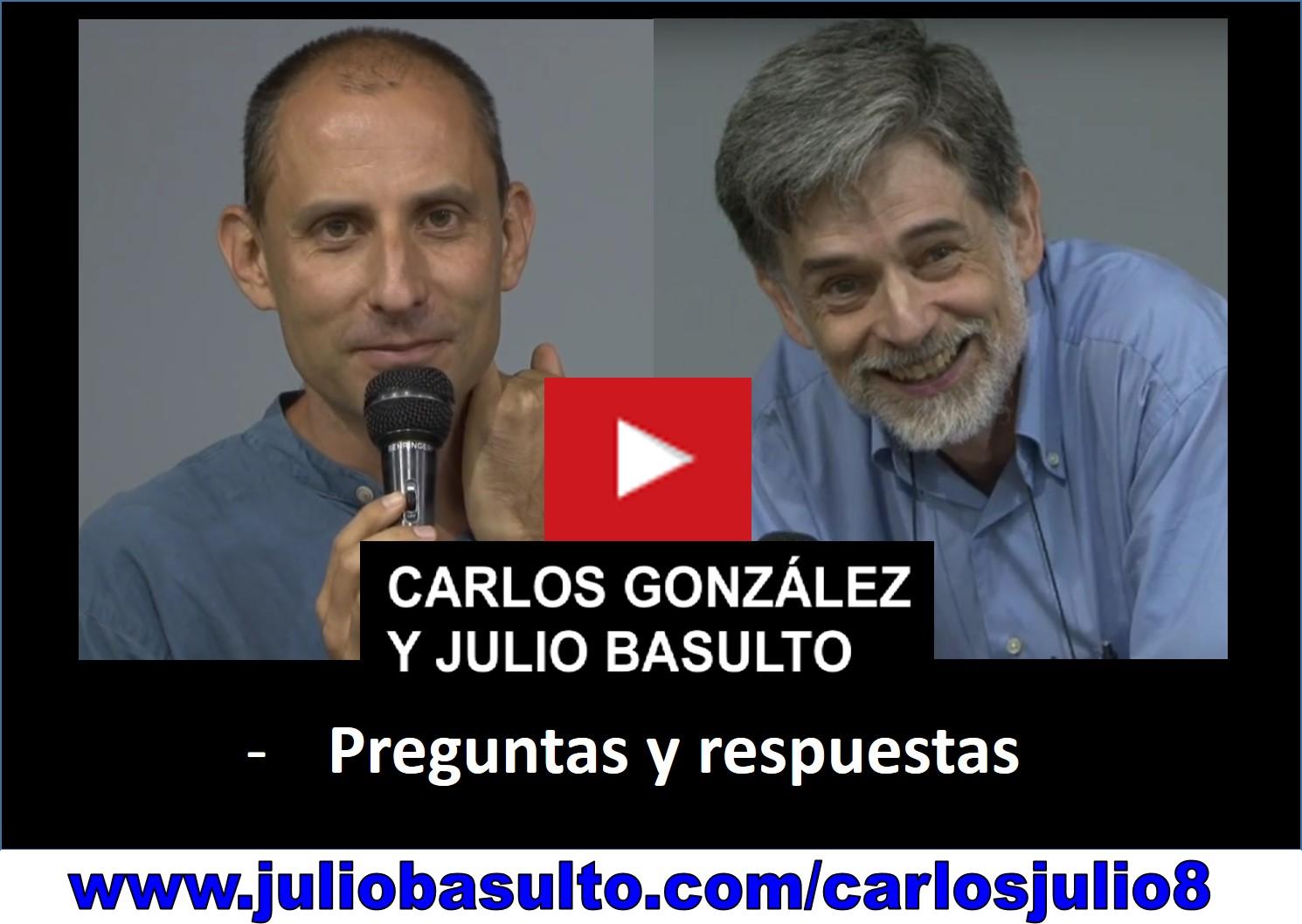 Vídeo de Carlos González y Julio Basulto en Barcelona (último fragmento)