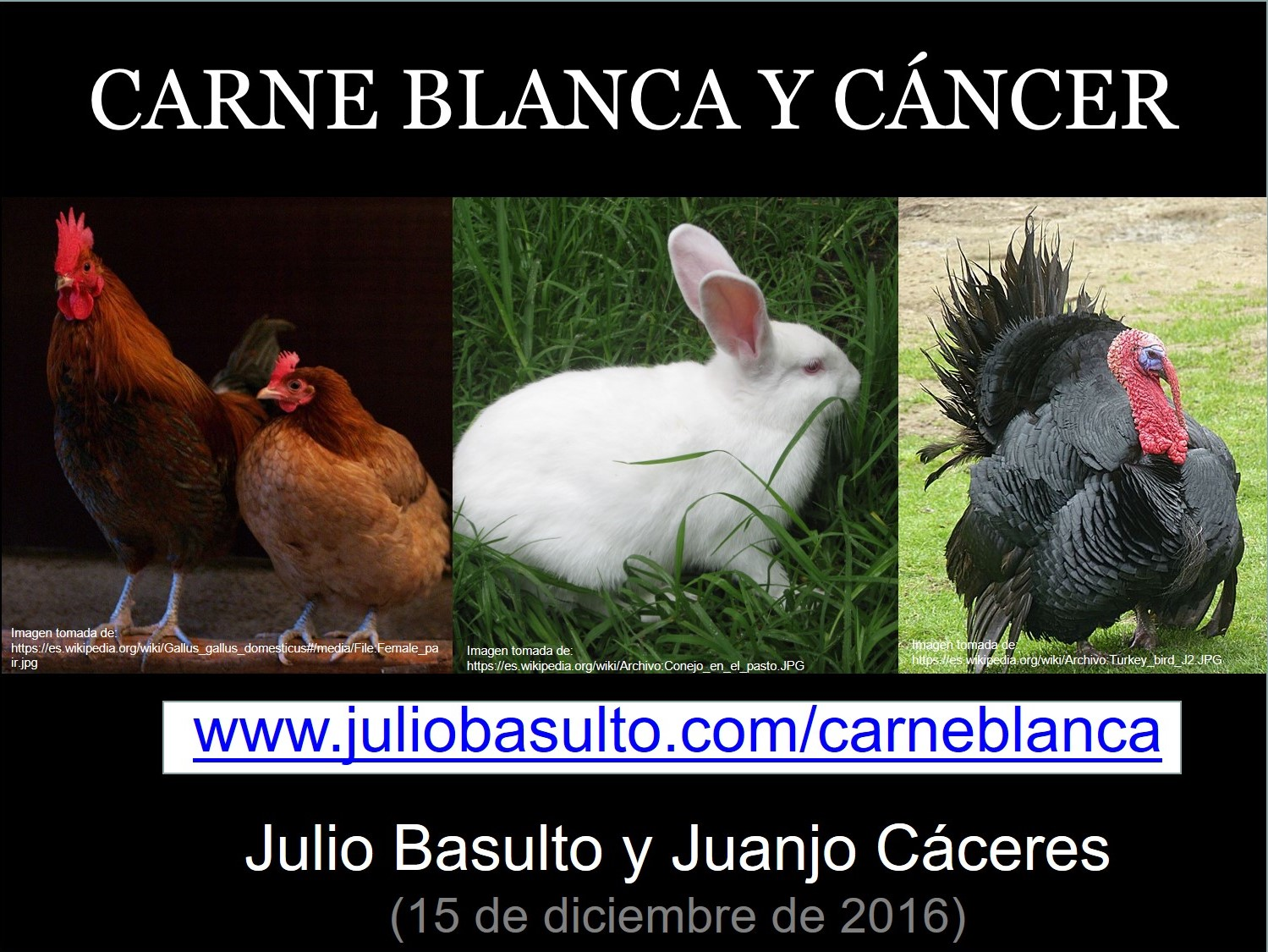 Carne blanca y cáncer
