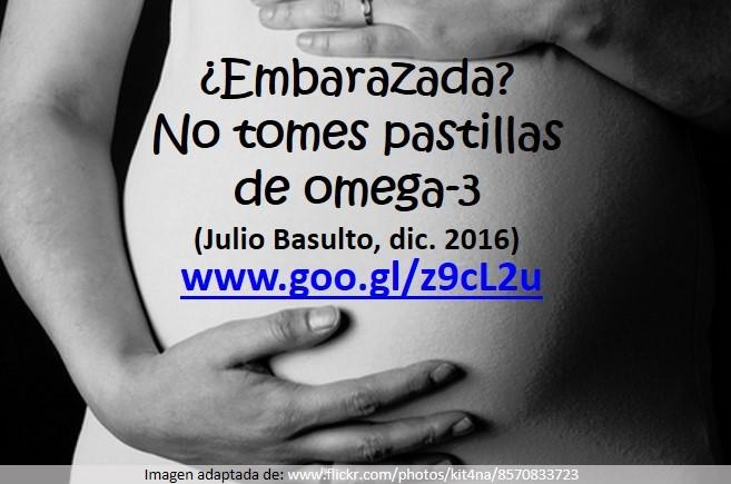 ¿Embarazada? No tomes pastillas de omega-3