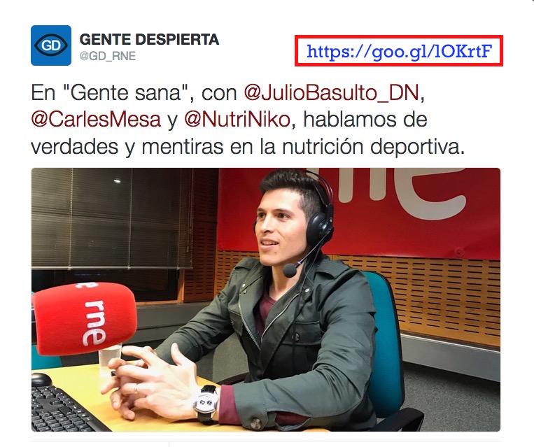 """Alimentación deportiva, con Nico Haros en """"Gente Sana"""" (podcast)"""