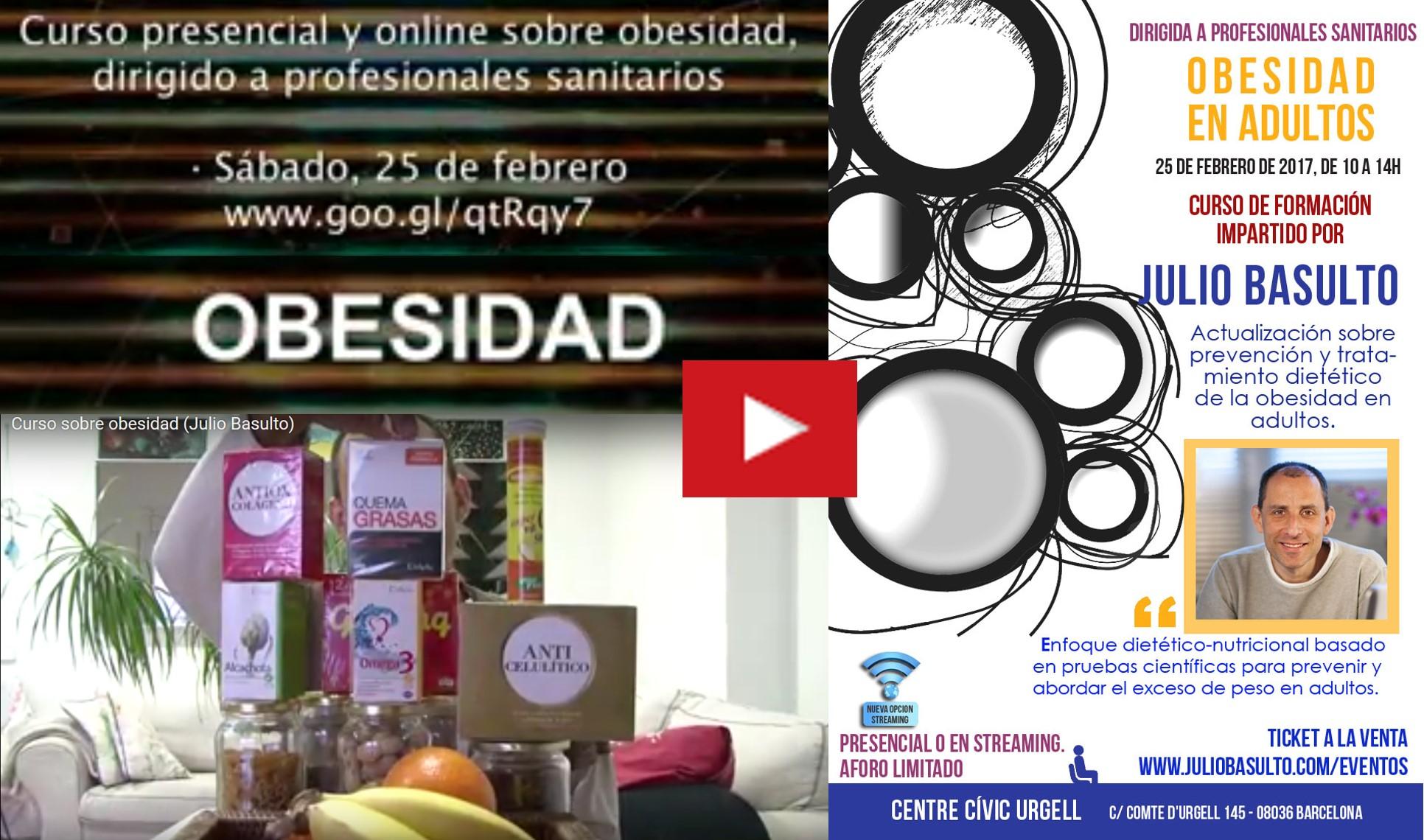 Curso de obesidad dirigido a profesionales sanitarios (vídeo promocional)