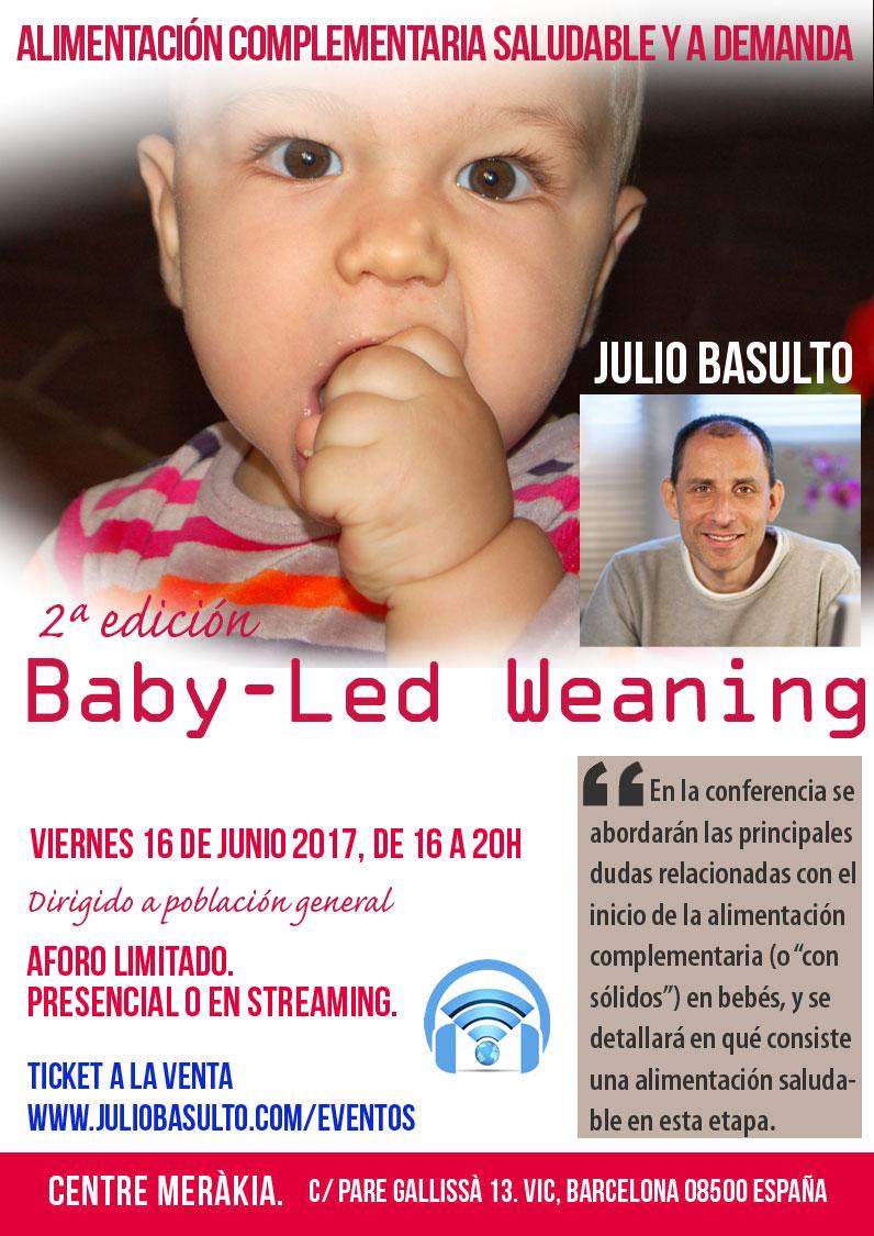 Curso de Baby-led weaning, presencial y en streaming (2ª edición)