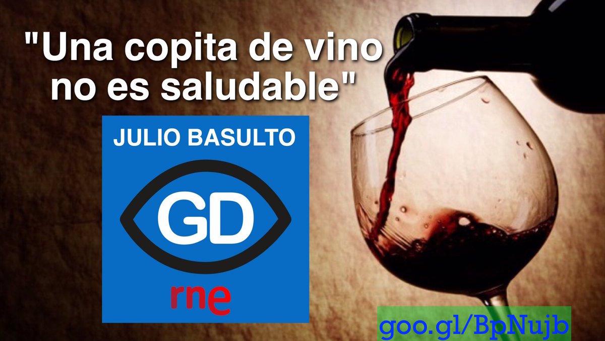 """""""Una copita de vino no es saludable"""" en """"Gente Sana"""" (Gente Despierta) (Podcast)"""