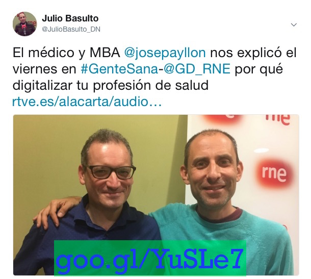 "Marketing digital y salud, con Josep Ayllón en ""Gente Sana"" (Gente Despierta) (Podcast)"