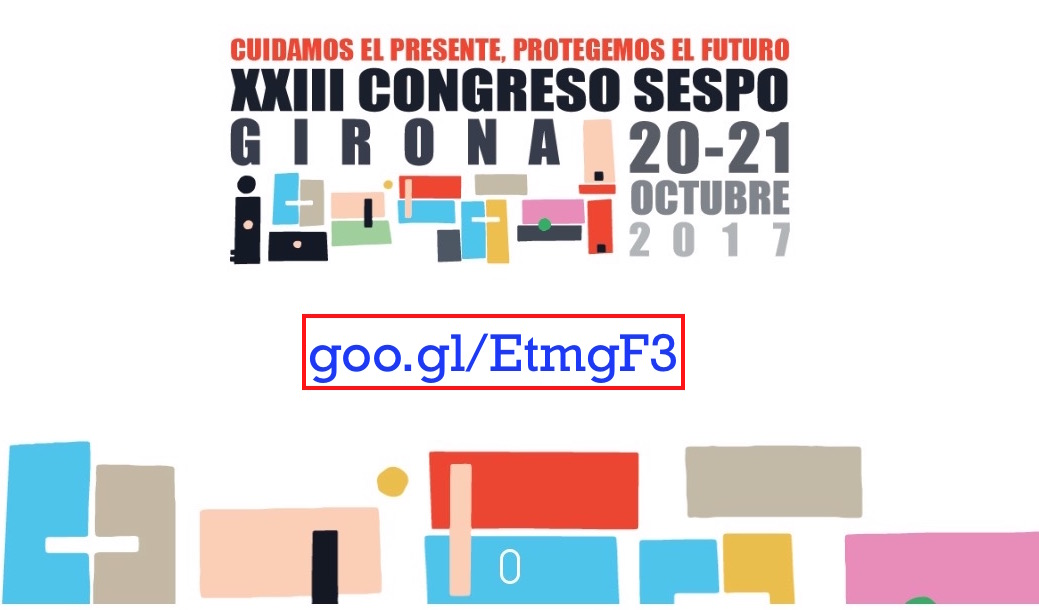 XXIII Congreso SESPO (Girona, 20 y 21 de octubre de 2017)