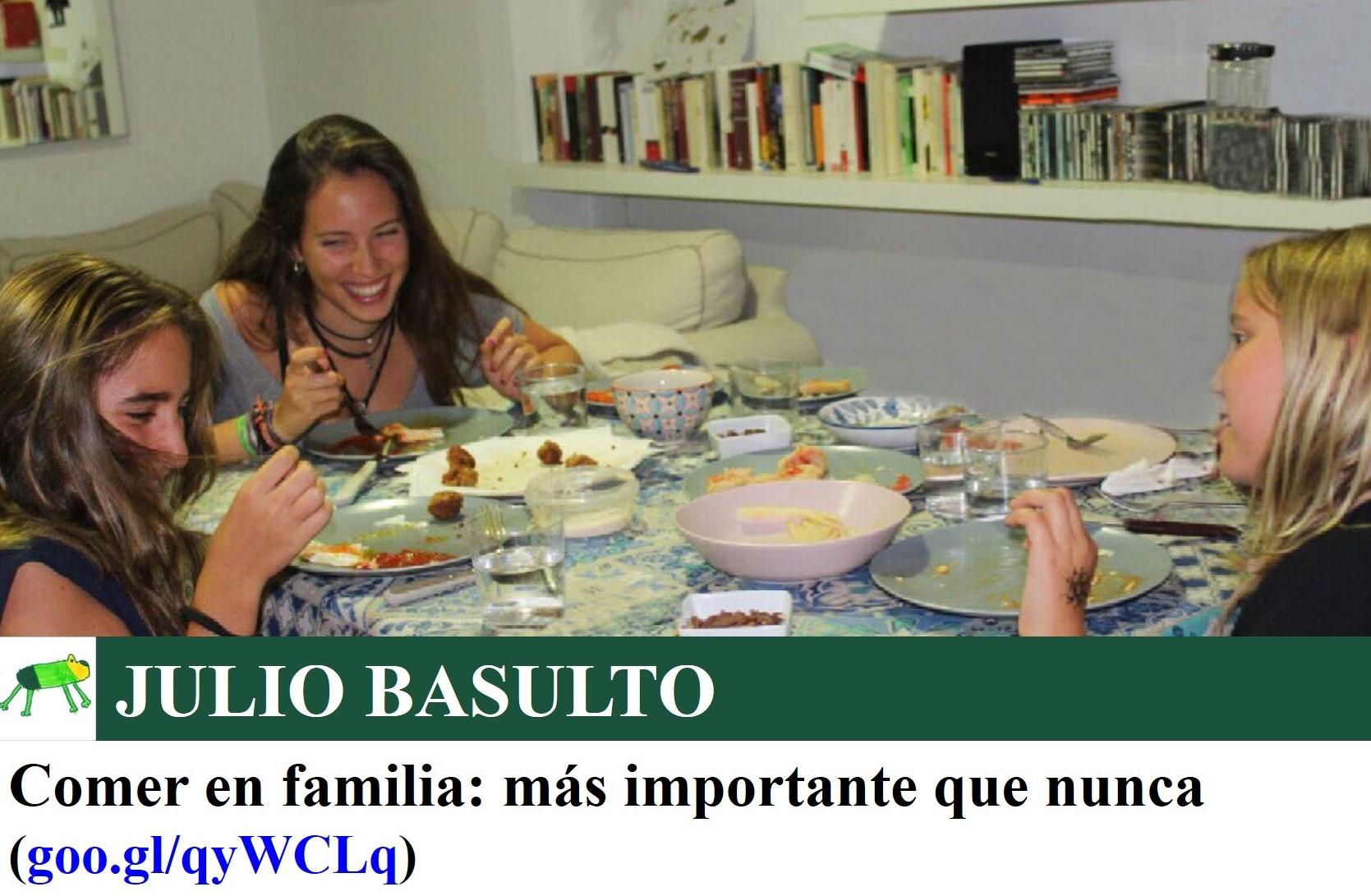 Comer en familia: más importante que nunca