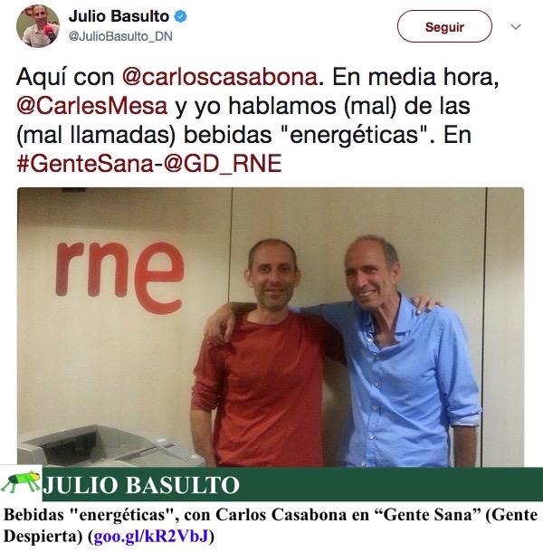 """Bebidas """"energéticas"""", con Carlos Casabona en """"Gente Sana"""" (Gente Despierta)"""