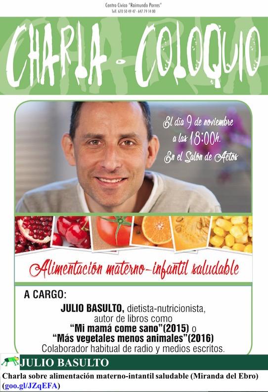Charla sobre alimentación materno-intantil saludable (Miranda de Ebro)