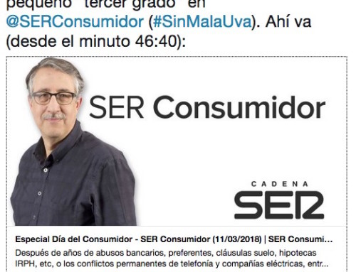 """Pequeño """"tercer grado"""" en la sección #SinMalaUva (SER Consumidor)"""