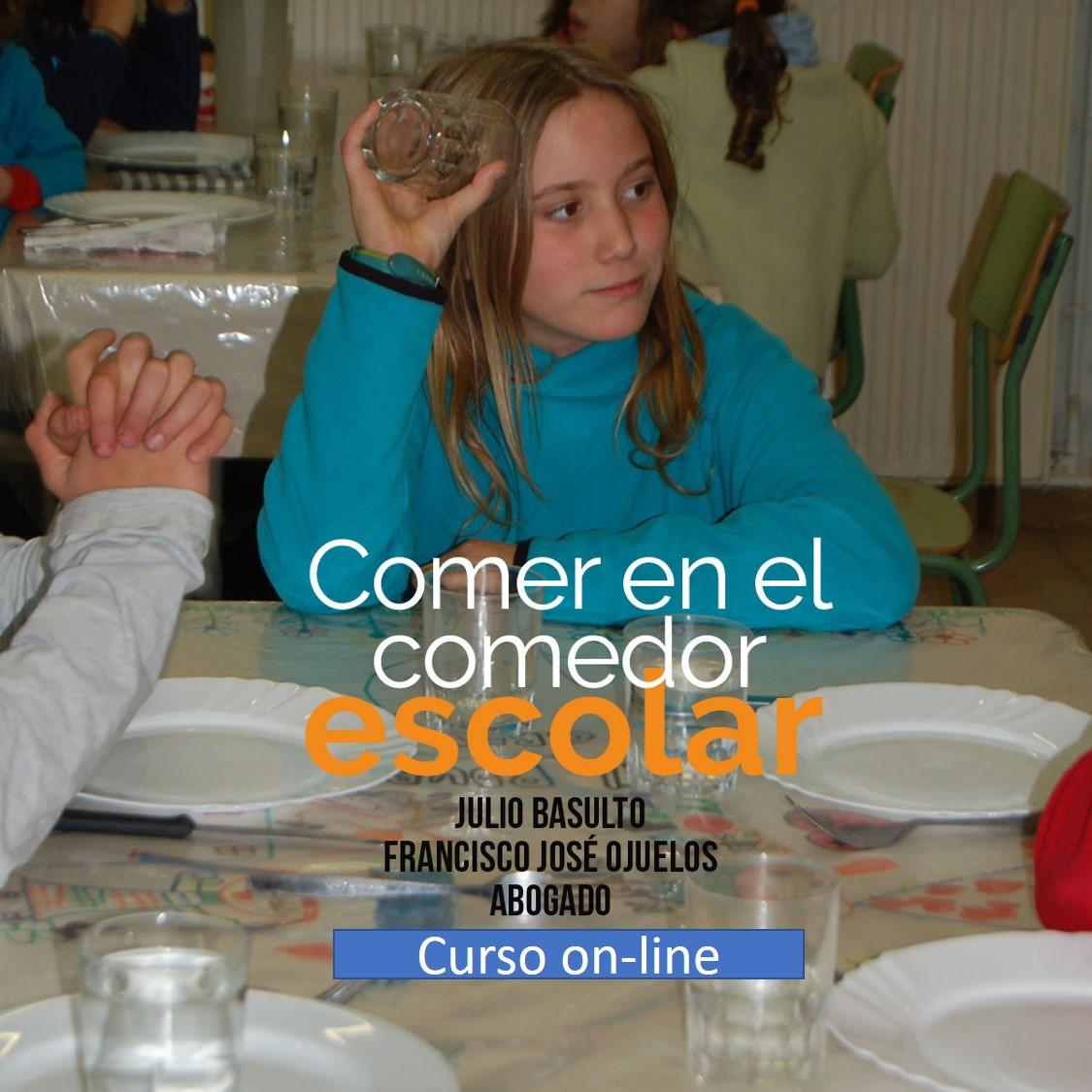 """Curso online """"Comer en el comedor escolar"""""""